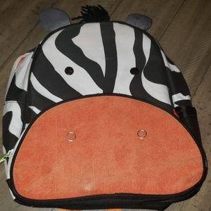 Skip Hop Zoo zebra backpack small